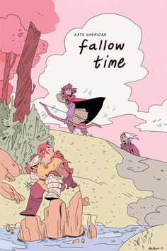 A Trio of Heroines Enjoy a Well-Earned Rest in the Lovely Comic Fallow Time