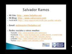 Contactar con Salvador Ramos www.sqlserversi.com