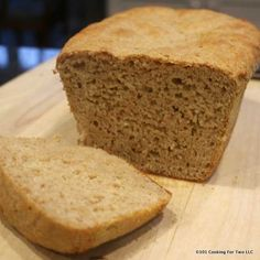 Honey Whole Wheat English Muffin Bread from 101 Cooking For Two