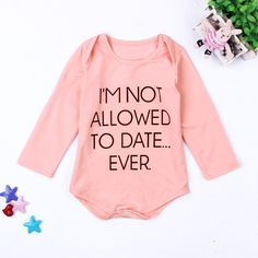 >> Click to Buy << Best Seller Letter print pink color Long Sleeve Baby Romper Baby Girl cute Jumpsuits Infantil Baby Clothing #Affiliate