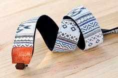 iMo White Navajo Camera Strap suit for DSLR / SLR Cute Camera, Navajo Style, British Standards, Photography Accessories, Camera Photography, Camera Accessories, Cool Suits, Fabric Patterns, Heeled Mules