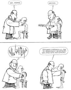 Post with 5 votes and 98 views. Tagged with funny; Shared by Quino / Síntomas Mafalda Quotes, Medical Memes, Funny Jokes, Hilarious, Pure Fun, Everything And Nothing, Humor Grafico, Cartoon Games, Trending Memes