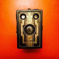 Kodak Six 16 Brownie Box Film Camera - Made from 1933-1941