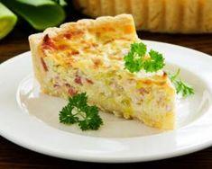 Quiche légère aux poireaux et au bacon : http://www.fourchette-et-bikini.fr/recettes/recettes-minceur/quiche-legere-aux-poireaux-et-au-bacon.html