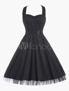 ecfb419950ebe 16 Best Flamenco Polka Dot Skater Dress images | Skater dresses ...