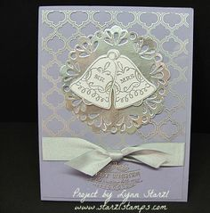 Seasonal Bells Wedding Card by starzlmom28 - Cards and Paper Crafts at Splitcoaststampers