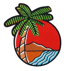 Tropical Vibes Patch from Valley Cruise Press
