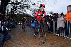 Daniel Oss on the Kemmelberg | Gent-Wevelgem 2015 | @CyclingNews