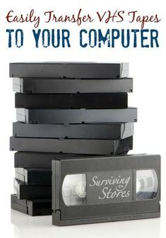How to Transfer VHS Tapes to Your Computer! - - Transferring VHS tapes to your computer is MUCH easier than you think! Find out how to save those precious family memories with this quick video! Cassette Vhs, Vhs Tapes, Technology Hacks, Computer Technology, Computer Help, Computer Tips, Computer Projects, Computer Photo, Computer Basics