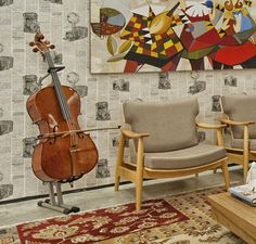 Sala de Música por Kerley de Melo