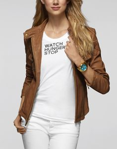 Fashion label Michael Kors has announced its long-term partnership with the United Nations' World Food Programme, dedicated to helping solve the international hunger crisis. World Food Programme, Blazers, Vogue Mexico, Watch Photo, Fashion Essentials, Fashion Labels, My Wardrobe, Michael Kors Watch, Chic Outfits
