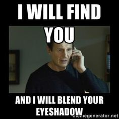 The 20 Best Beauty Memes of All Time - unblended shadow