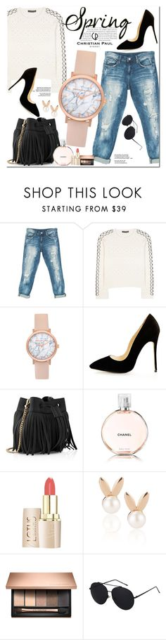 """Christian Paul Watches"" by oshint ❤ liked on Polyvore featuring Sans Souci, Alexander McQueen, Whistles, Chanel, Aamaya by priyanka, awesome, amazing, fabulous, watches and christianpaul"