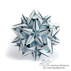 Kusudama Me! - Modular origami! - Great website