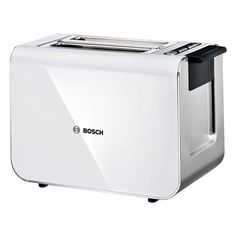 Ensure breakfast goes without a hitch with this sleek Styline Sensor toaster from Bosch. With Quartz glass mirror heating that ensures even heat distribution, the Styline Sensor toaster is perfect for Id Design, Sketch Design, Modern Toasters, Glass Toaster, White Toaster, Corner Mirror, Bread Toaster, Domestic Appliances, Electric House