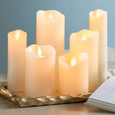 Flameless Candles With Remote Costco Mesmerizing Check Out The Deal On 7 Foot White Birch Tree  240 Warm White Led's