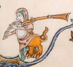 The Gorleston Psalter Date 1310-1324 Add MS 49622 Folio 63r
