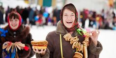 Maslenitsa: Celebrating the End of Winter with Pancakes. Russia.