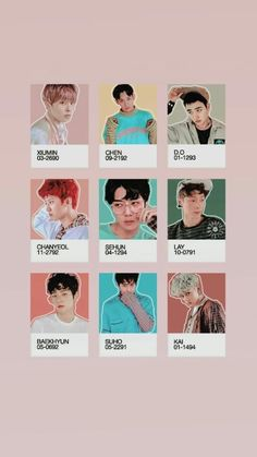 Kpop Exo, Exo Chanyeol, Kyungsoo, Exo Cartoon, Exo Stickers, Exo Album, Exo Lockscreen, Exo Fan, Exo Ot12