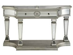 Stein World Monaghan Table, 12508. Bold and luxurious, this console table steals the show. Its mirrored surfaces will reflect the beauty of any room. Babette's Furniture~Leesburg, Fl