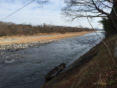 Kinugawa river.