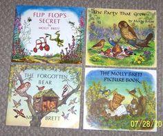 4 Molly Brett The Medici Society England Children's Picture Books Vintage