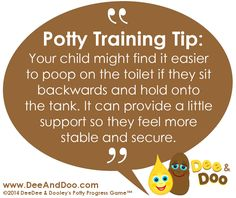 Potty training tip from Dee & Doo: Is your child fearful of pooping? Potty training t Pediatric Psychologist, Best Potty, Potty Training Girls, Sticker Chart, Special Kids, Positive Reinforcement, Working With Children, Training Tips, Toilet