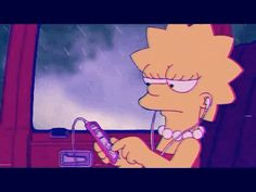 48 Ideas for music cartoon sad Simpson Wallpaper Iphone, Sad Wallpaper, Tumblr Wallpaper, Aesthetic Iphone Wallpaper, Cartoon Wallpaper, Aesthetic Wallpapers, Computer Wallpaper, Aesthetic Backgrounds, Tumblr Cartoon