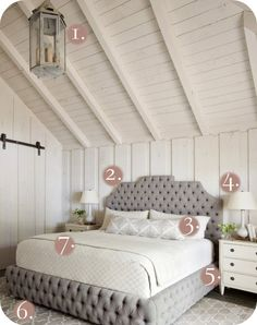 Tufted Bedroom. .. I need this bed