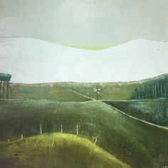 Modernist landscape Irish Landscape, Landscape Art, Landscape Paintings, Landscapes, Original Paintings, Original Art, Winter Mountain, Connemara, Buy Art