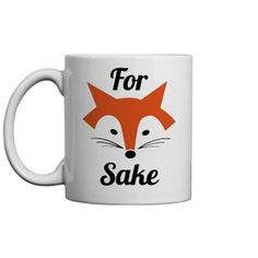 For Fox Sake Morning | Customize funny and trendy fox designs for those who like puns, jokes, foxes and more!