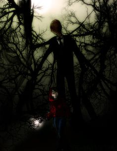 Slenderman! THis game scares me so much!