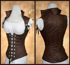 Damsel in this dress...I love this woman's corsets!!! So cool!
