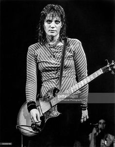 Joan Jett performs at the Paradise in Boston, May 15, 1981.