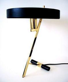 Louis Kalff desk lamp #Home #Decor http://www.IrvineHomeBlog.com/HomeDecor/  ༺༺  ℭƘ ༻༻