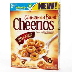 Best Cereal: Cinnamon Burst Cheerios Cereal