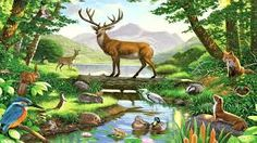 Image result for deer painting abstract