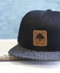 """Snapback Cap """"Moe"""" // black & black – pikfine"""
