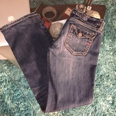 MEK jeans Good condition MEK jeans size 27 hammed inseam 30 MEK Jeans Boot Cut