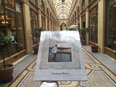 in the beautiful and historic passage - Galerie Vivienne, have a good day!