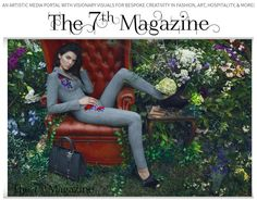 @The7thmagazine gives you fashion, art, culture and much more. We also have a great blog for it as well. ;-) @LuxuryChapters #fashion #design #beauty #popculture #the7thmagazine #luxurychapters #explore #creative #fineart #art #events #editoral #chic @KendallJenner #KenderJenner