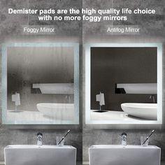 Pool Bathroom, Bathroom Wall, Bathroom Lighting, Bathroom Ideas, Led Mirror, Floor Mirror, Rectangular Bathroom Mirror, Leaner Mirror, Dressing Mirror