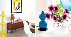 design attractor: Sylvie Rochon's Colorful Mid-Century Modern Home