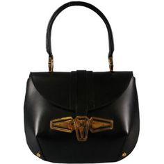 Balenciaga black leather Purse $754.00