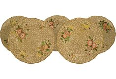 Spode Dessert Plates, Set of 5 on OneKingsLane.com
