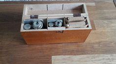 Medische instrumenten reis-set medische naalden - 1e helft 20e eeuw