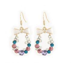 Omega Deals,oorbellen,sieraden,fashion jewelry, mode accessoires, accessoires,accesories,earrings, strik oorbellen
