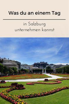 Die Stadt eignet sich wunderbar für einen Tagesausflug. Sie ist überschaubar und in der Salzburger Altstadt, findest du die wichtigsten Sehenswürdigkeiten.