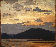 Tom Thomson Catalogue Raisonné | Landscape, Algonquin Park, Spring 1916 (1916.64) | Catalogue entry