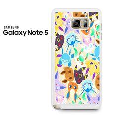 Eevee Pokemon Samsung Galaxy Note 5 Case